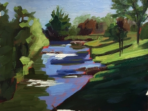 2nd painting - Grand River